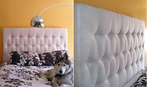 easy diy headboard white tufted headboard diy delightful queen ideas 55 furniture size