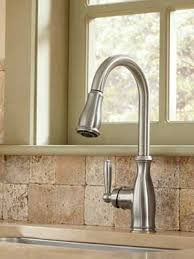Moen Brantford Kitchen Faucet Attractive Kitchen Faucet 7185srs In Spot Resist Stainless By