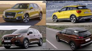 peugeot philippines 2017 audi q2 vs 2017 peugeot 3008 youtube