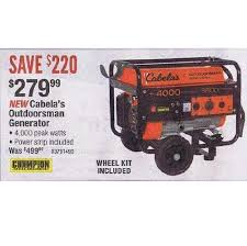 cabelas black friday sale cabela u0027s outdoorsman generator 279 99 black friday 2013 in