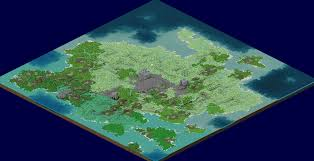 3d World Map by The Misty Isle A Massive 3d World Map With Visible Succession