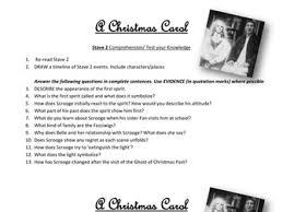a christmas carol teaching bundle by lesley1264 teaching