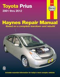 toyota prius 01 12 haynes repair manual haynes manuals