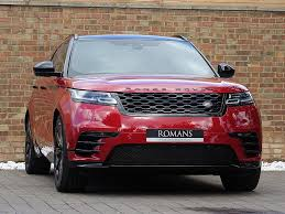 maroon range rover used land rover velar cars for sale with pistonheads