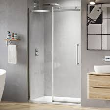 1200 Sliding Shower Door 8mm Designer Frameless Easyclean Sliding Shower Door