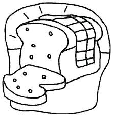 Bread Coloring Pages Prosecure Me Bread Coloring Page