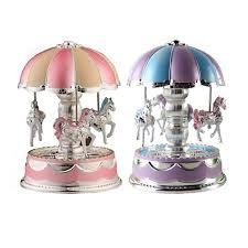 led light merry go round carousel with music christmas birthday