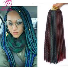 faux dreads with marley hair dreadlocks braids 18 12 roots crochet faux locs expression hair