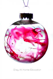 beautiful watercolor ornaments make gifts