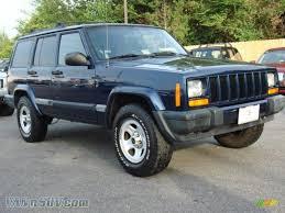 patriot jeep blue 2001 jeep cherokee sport 4x4 in patriot blue pearlcoat 556476