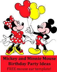 minnie mouse mickey mouse birthday decorations image