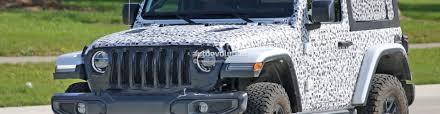 jeep wrangler 2 door soft top spied pics jl wrangler 2 door shows off the new soft top