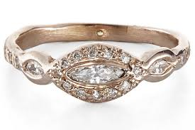v shaped gold ring moho silver sparking jewelry for fashion forward brides