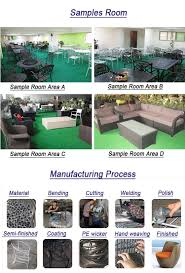 Pvc Patio Furniture Cushions - 3pcs plastic aluminum pvc pipe outdoor chair rattan outdoor kd