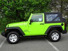 lime green jeep wrangler 2012 for sale sublime green jeep i want this to be my car you should go on