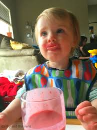 sippy cups are gross using an open glass with a toddler quirky
