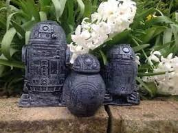 wars r2 d2 and bb8 set concrete garden ornaments free