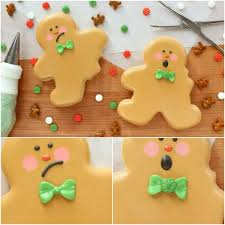 Christmas Cake Decorations Michaels by How To Make Bitten Gingerbread Men Cookies With Wilton And