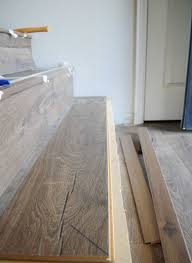 How To Install Hardwood Floors On Concrete Without Glue - best 25 laminate stairs ideas on pinterest hardwood stairs