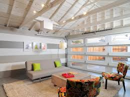 Living Spaces Chairs by Large Garage Remodel To Living Spaces With With White And Gray