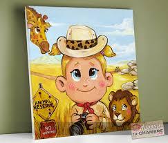 tableau deco chambre enfant tableaux deco chambre jungle pour fille vente tableau enfant et