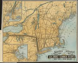 albany map map of the york central hudson river and boston albany