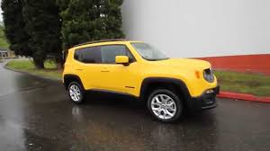 yellow jeep 2015 jeep renegade latitude yellow fpb17324 redmond
