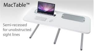 Recessed Monitor Computer Desk Apple Friendly Computer Desks For Imac Mac Pro Mac Mini Macbook Pro