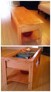 Children S Table With Storage by Ana White The Coffee Table Of Fun Diy Projects