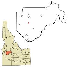 Idaho Hunting Unit Map Placerville Idaho Wikipedia