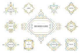 tribal line logos u0026 badges templates logo templates creative