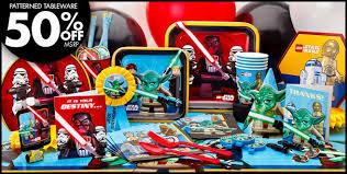 Star Wars Birthday Decorations Lego Star Wars Party Supplies Lego Star Wars Birthday Party