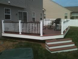 vinyl porch railing sweet image installing vinyl porch railing