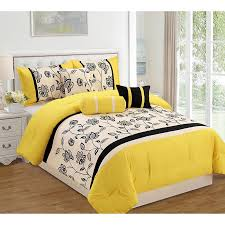 Orange And White Comforter Set Elight Lacina Yellow Seven Piece Comforter Set Products