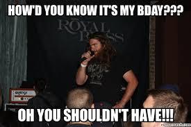 Memes Rock N Roll - rock n roll birthday
