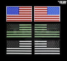 American Flag Regulations U S Flag Ir Patch U2039 Tactical Night Vision Company
