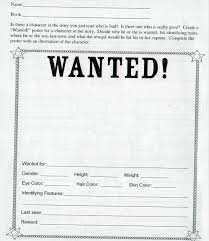 blank wanted posterblank wanted poster letter of eviction sample