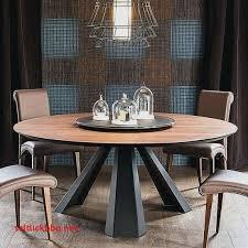 table cuisine ronde table ronde pied central extensible pour idees de deco de cuisine