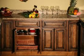 contemporary dark maple cabinets cabinets cabinets cream glaze