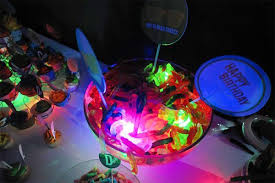 glow in the decorations glow party decorations glowing treat ideas activedark
