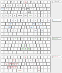 keyboard layout ansi katana60 candykeys mechanical keyboard store