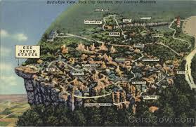 Rock City Gardens Lookout Mountain Ga Bird S Eye View Lookout Mountain Rock City Gardens Tn