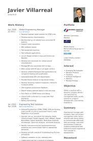 Engineering Resume Example by Engineering Manager Resume Samples Visualcv Resume Samples Database