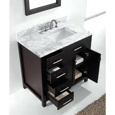 bathroom sink offset bathroom sink parkway inch espresso finish
