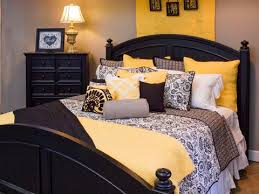 black white and yellow bedroom grey yellow and black bedroom bedroom yellow bedrooms guest black