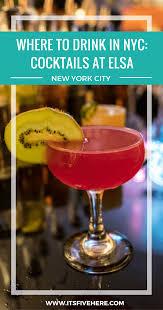 booze buzz elsa in brooklyn it u0027s five o u0027clock here