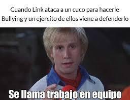 Memes De Bullying - dopl3r com memes cuando link ataca a un cuco para hacerle