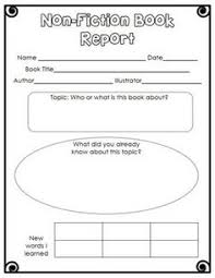 Book report summary worksheet Unique Teaching Resources