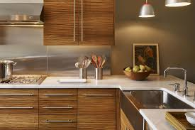 stunning zebra wood cabinets kitchen including mod look in