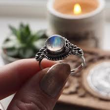 crystal ball rings images Rings druzy dreams JPG